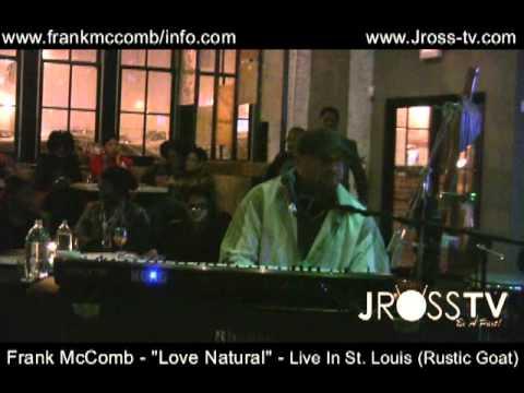 James Ross @ (R&B Singer) - Frank McComb -