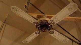 smc a52 ceiling fan with blades on
