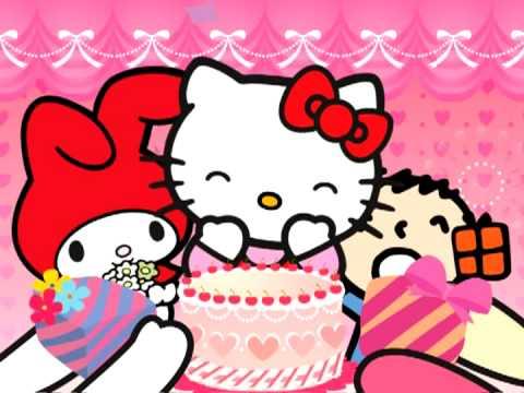 Hello Kitty 生日囉 - YouTube