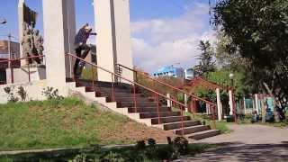CALLE skate video