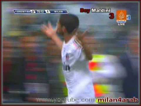 Fiorentina vs Ac Milan 0-2  All goals Highlights HQ  31-May-2009