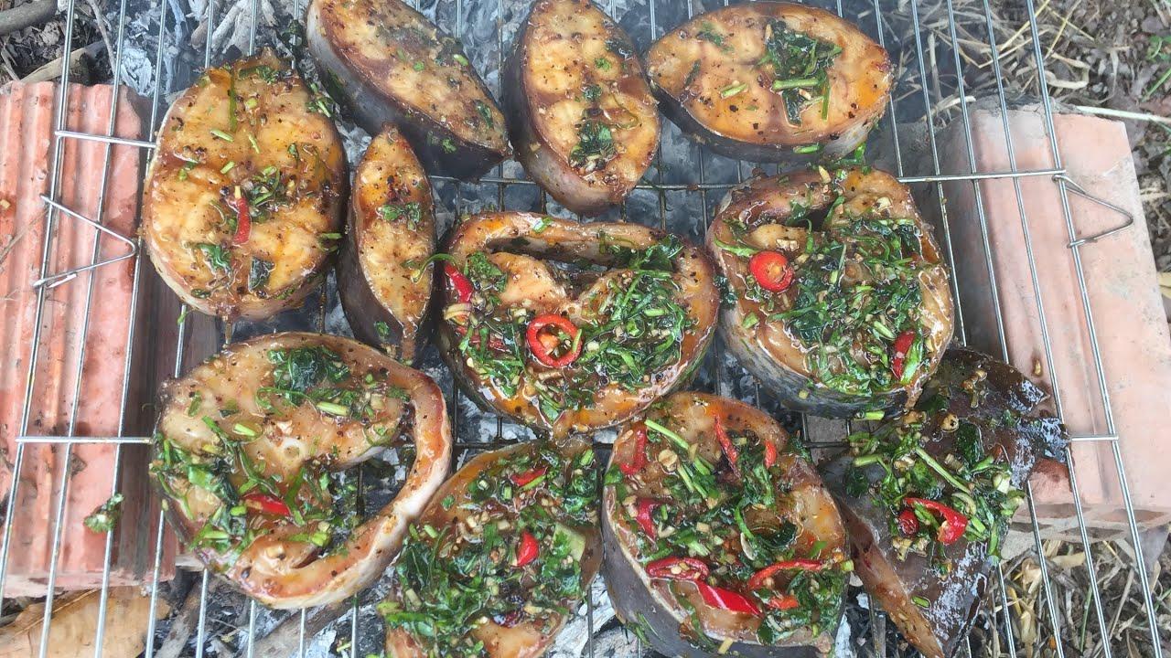 Cá Trê nướng sa tế cực thơm ngon ăn không còn miếng nào | Tứ Linh Vlogs | Tập 2 | Phần 2.