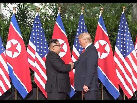 Histórica Reunión: Donald J. Trump con Kim Jong-un. thumbnail