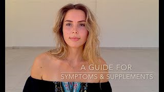 Symptoms & Supplements - PCOS / Hormonal Imbalance