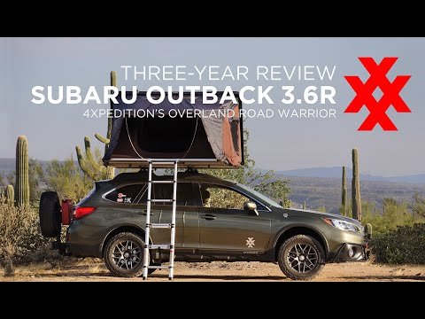 Subaru Outback Off-Road Overland Car Camping with iKamper Skycamp 3-Year Review