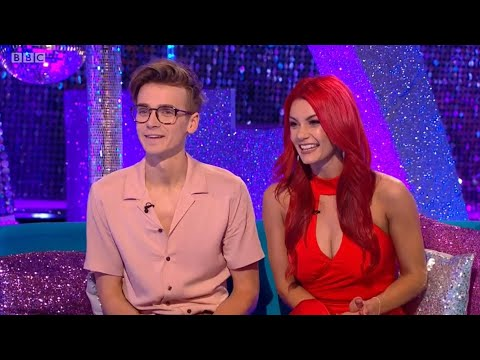 Joe Sugg & Dianne Buswell Strictly Come Dancing It Takes Two WEEK 12
