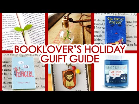 BOOKLOVER'S HOLIDAY GIFT GUIDE