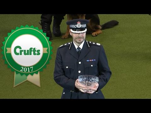 Police Dog Team Award Presentation | Crufts 2017