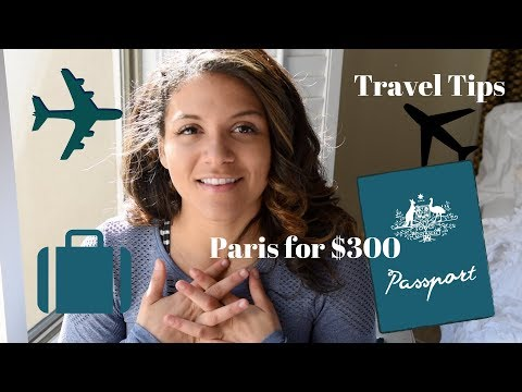 HOW I WENT TO EUROPE FOR $300 dollars | apps, tricks, 4 cheap travel