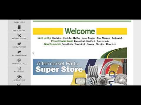 Green Diamond Equipment Customer  Portal Video Tutorial
