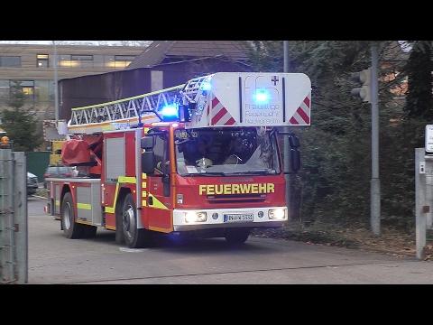 KdoW + LF 20 + DLAK + LF 16 + ELW + HLF FF Neckarsulm