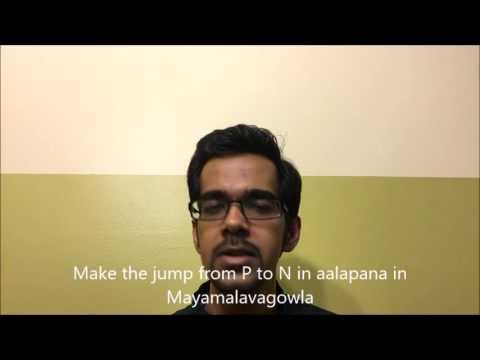 Carnatic music online: Learn to sing Dhatu Varisai