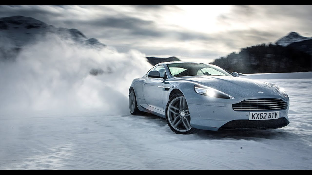 Aston Martin in the Snow Music Video - YouTube