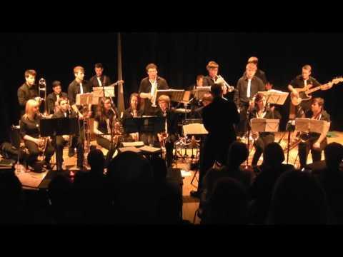 Garforth Jazz Rock Band at Seven Jazz, Leeds - Big Swing Face