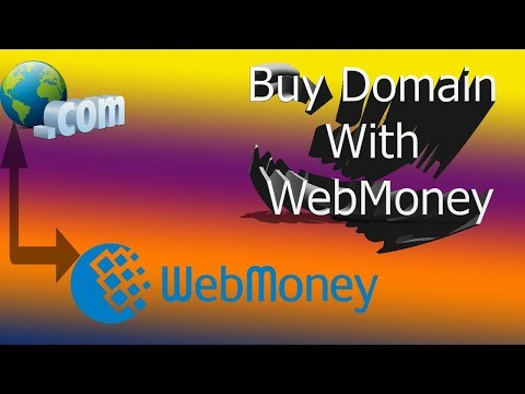 How To Buy Domain With Webmoney