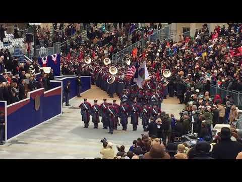 VMI corps of cadets at VA Governors inauguration