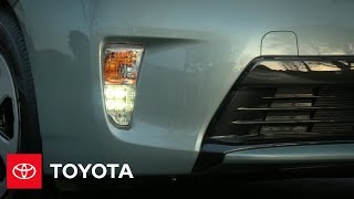 Prius How-To: Headlamps and Daytime Running Lights | 2012 Prius | Toyota