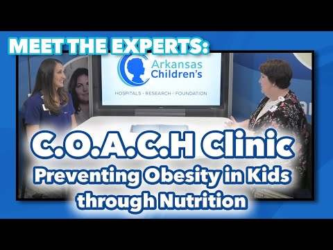 Meet The Experts: C.O.A.C.H Clinic - Preventing And Treating Obesity In Kids Through Nutrition