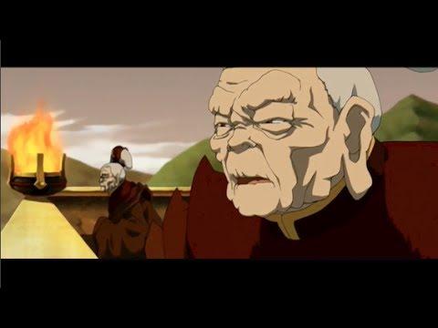 Lo and Li's Fire Nation Speech: Full Scene [HD]