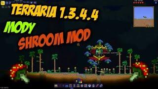 Terraria 1.3.4.4 Przegląd Modyfikacji | Shrooms Mod | Więcej Grzybów! [PL]