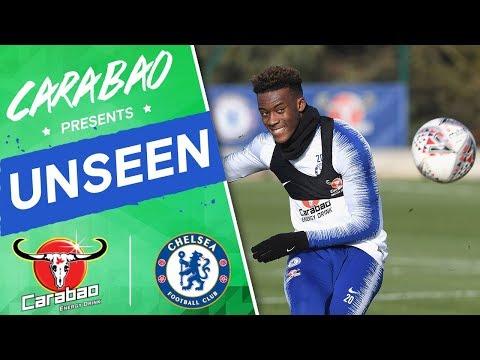 #Hudson-Odoi's Training Ground Wonder Goal, Epic Penalty Shoot-Out! | Chelsea Unseen
