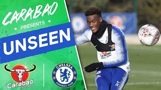 #Hudson-Odoi's Training Ground Wonder Goal, Epic Penalty Shoot-Out! | Chelsea Unseen