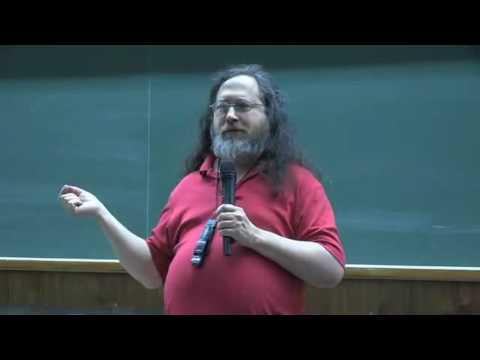 Richard Stallman   SOCIETE LIBRE & SOLIDAIRE  Piratage HAdopi censure orwell   conference marseille