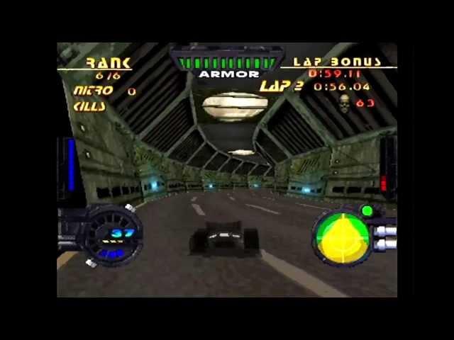 Rock'n Roll Racing 2 - HD Remastered Starting Block - PSone