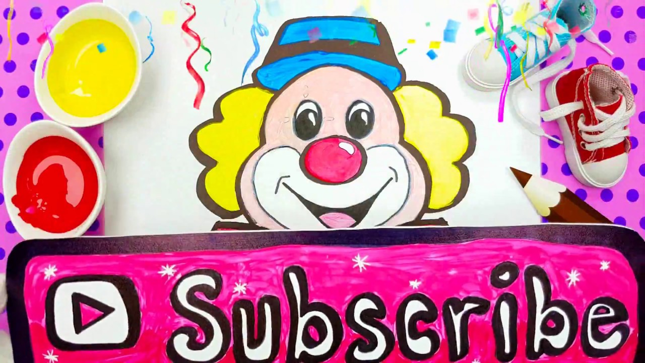 speed draw clown pennywise funny drawing step by step youtube