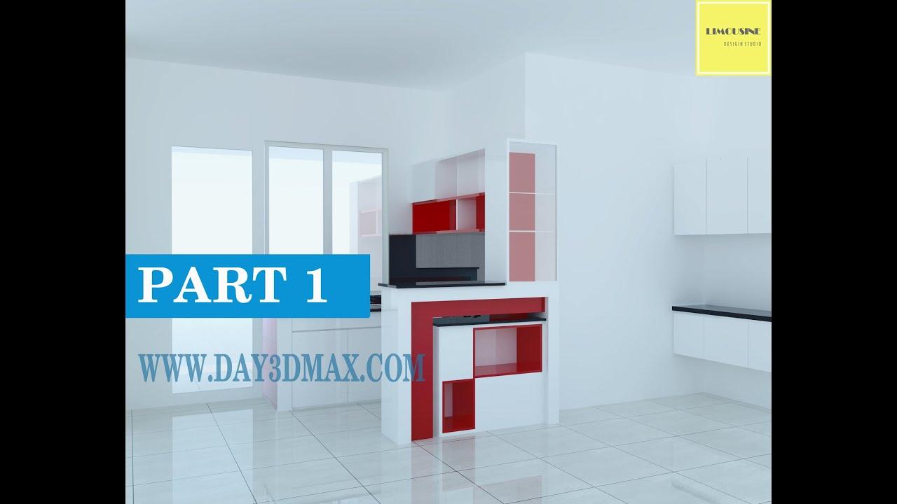 Dạy học 3d sketchup 33 p1 vẽ nội thất tủ bếp tại Tp hcm  learning study 3d draw a kitchen cabinet