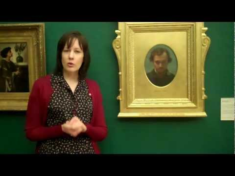 Victoria Osborne talks about Portrait of Dante Gabriel Rossetti at 22 years of Age
