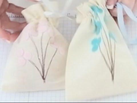 ScanNCut and Janome MC9900 Simple drawstring Bag