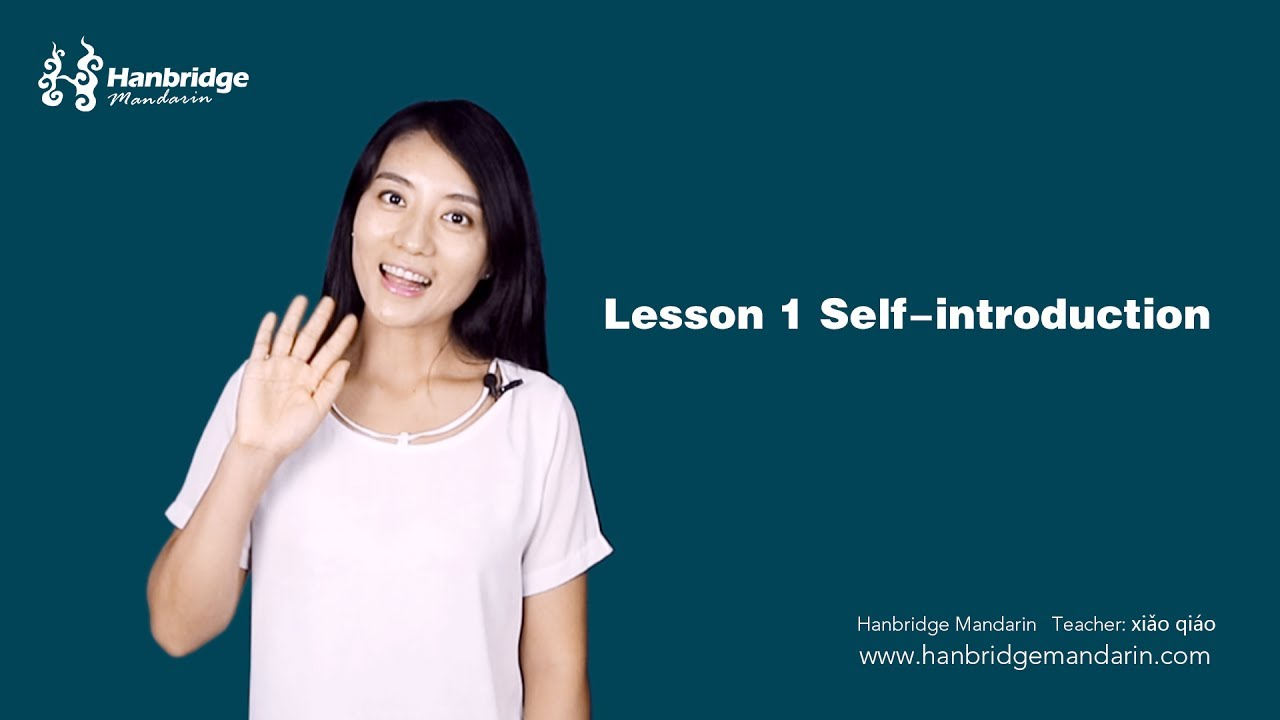 Daily Chinese Classroom Lesson 1 Greeting And Self Introduction