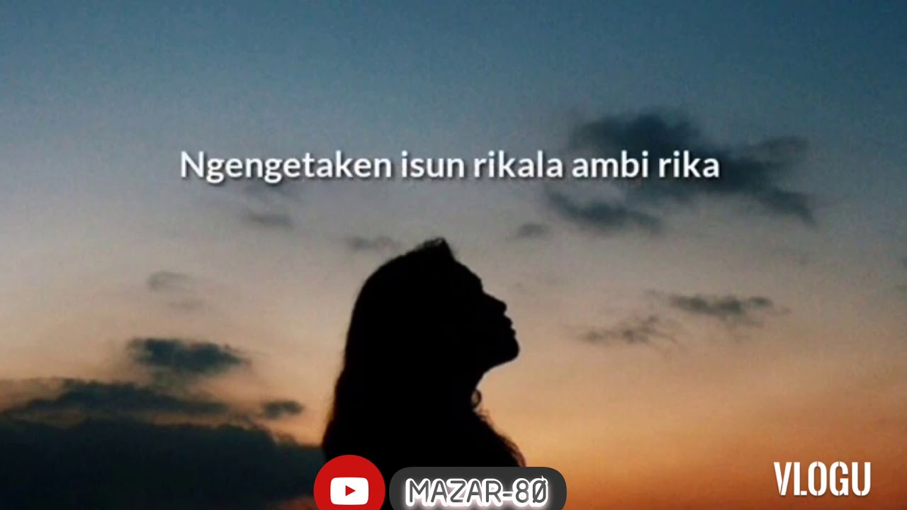 Cover lirik//.kangen_setengah_mati - YouTube