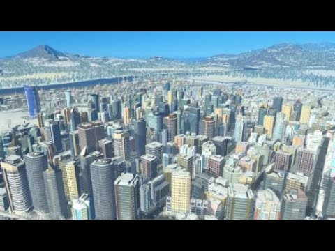 Cities: Skylines PSPRO Testing Natural Disasters DLC |