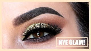New Years Eve Glam | Glitter + Fierce Lashes
