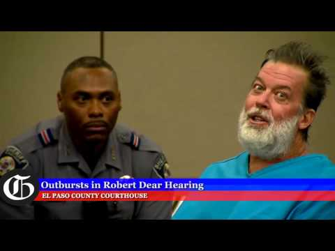 Listen to Planned Parenthood shooter's outbursts in court