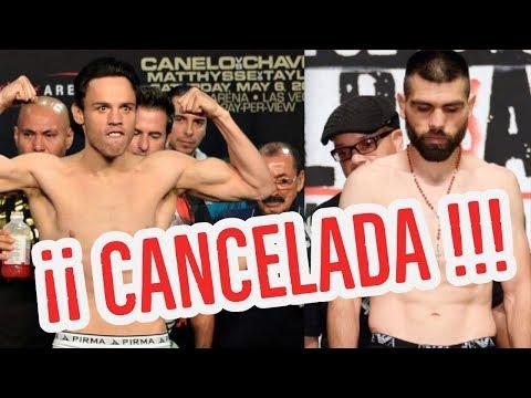 """Julio Cesar Chavez Jr """"Por esta razón, se Cancela la pelea ante El Perro Angulo"""""""