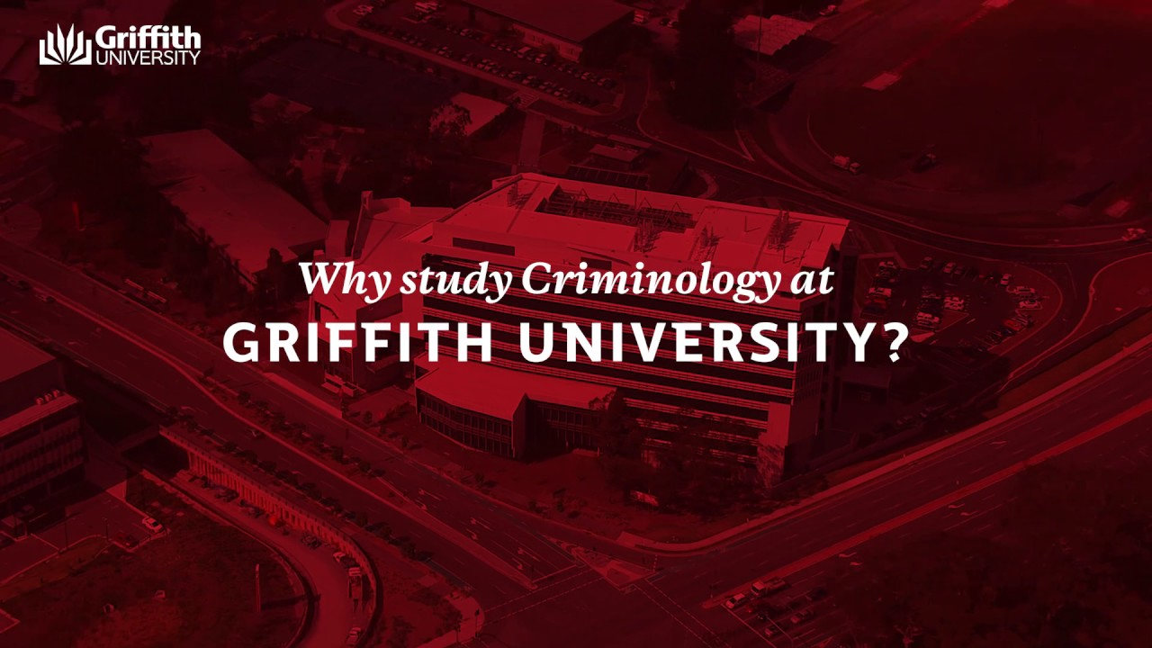 Why Study Criminology at Griffith University - YouTube
