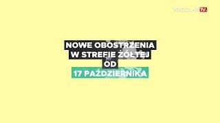 Koronawirus - nowe obostrzenia rządowe od 17 października