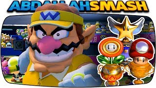 Mario Tennis Aces - ALL Tournament Trophies With Wario! [Nintendo Switch]