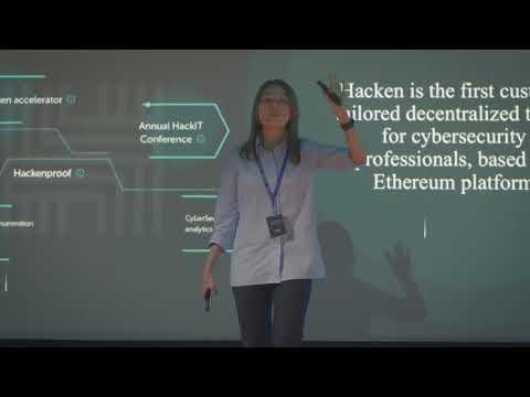 Hacken ICO Pitch World Blockchain Forum