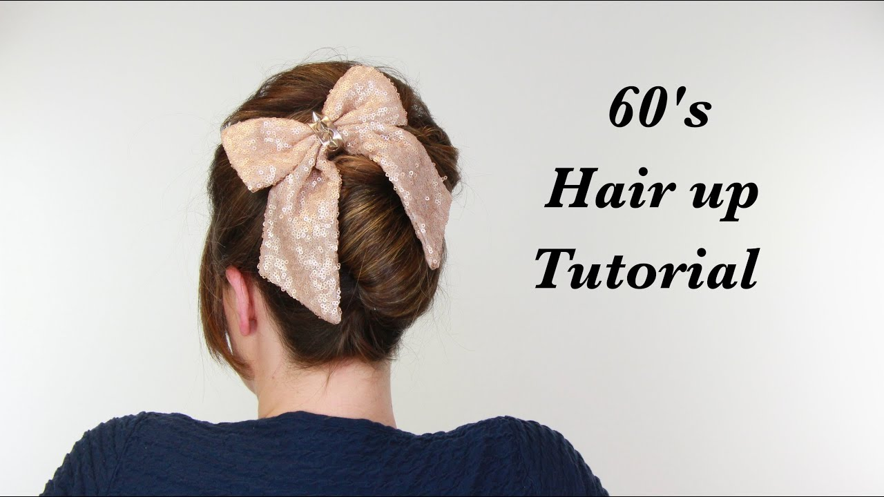Sixties French Pleat Hair Style Superhairsunday Youtube
