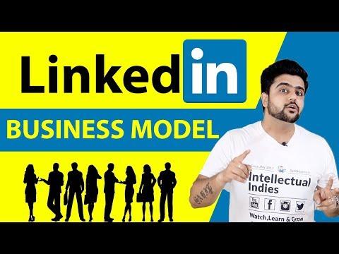 LinkedIn Business Model   Case Study   Hindi