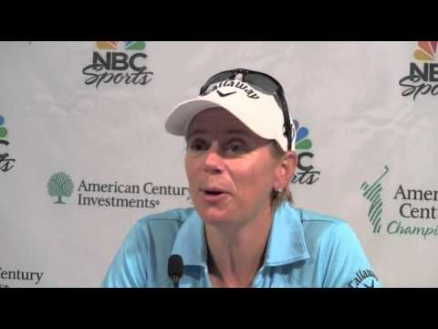 Mark Rypien feels field is playing for 2nd against Annika Sorenstam