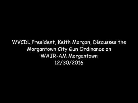 WVCDL Keith Morgan Morgantown AM 13302016