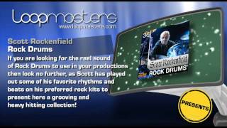 Rock Drum Samples Scott Rockenfield and Royalty Free Producer Sounds by Loopmasters
