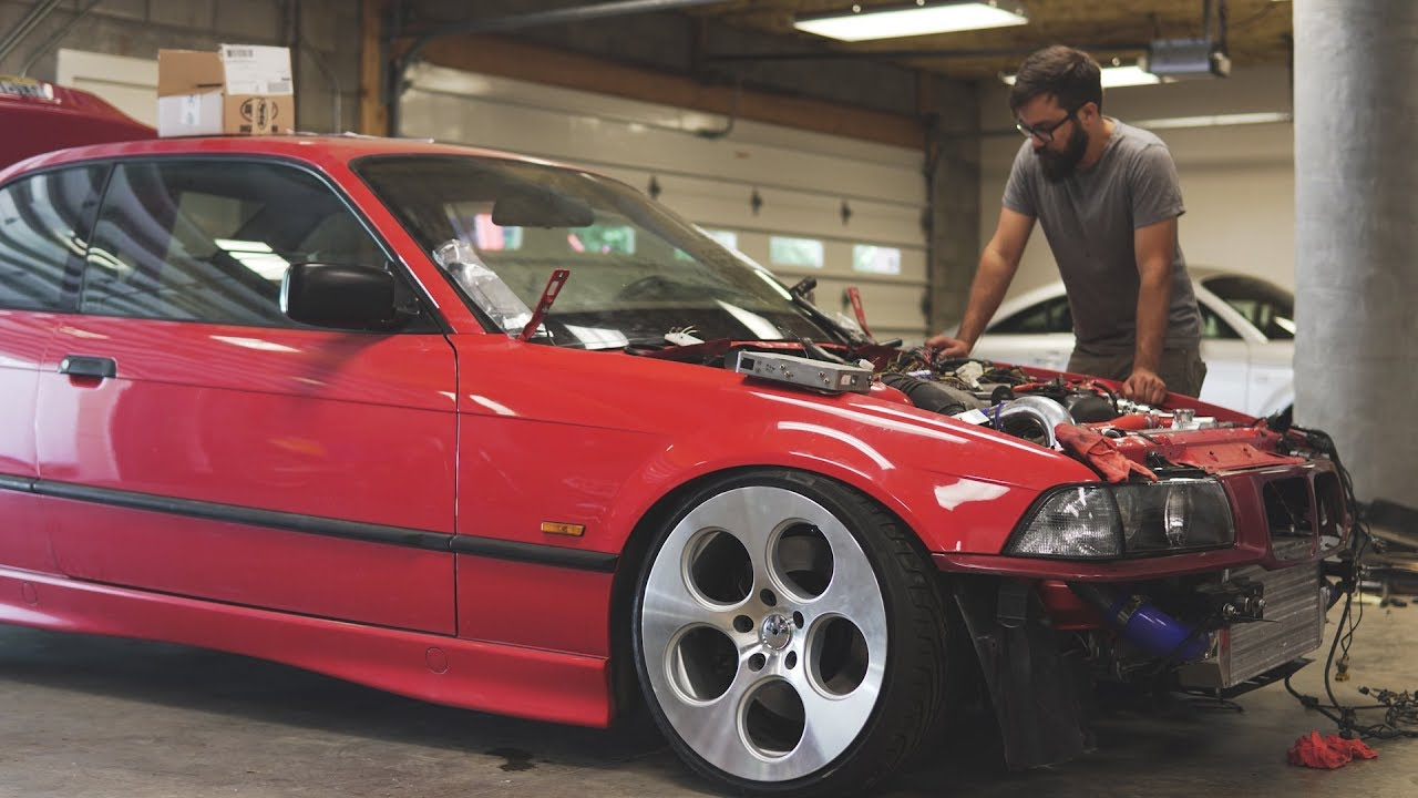 First Start Up 1jz Swapped e36!