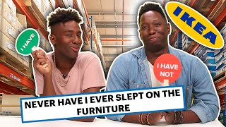 IKEA Employees Play Never Have I Ever