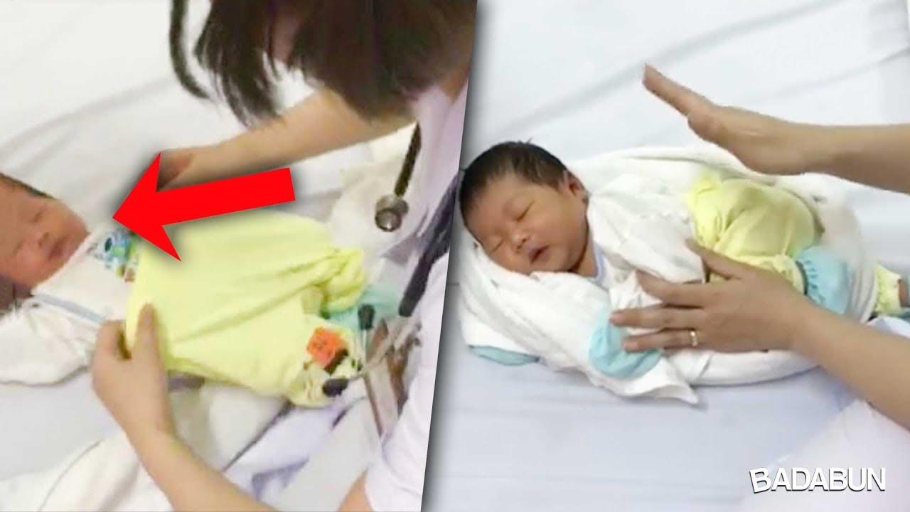 d496e8b98 Enfermera da tip para dormir a un bebé en segundos y se hace viral ...